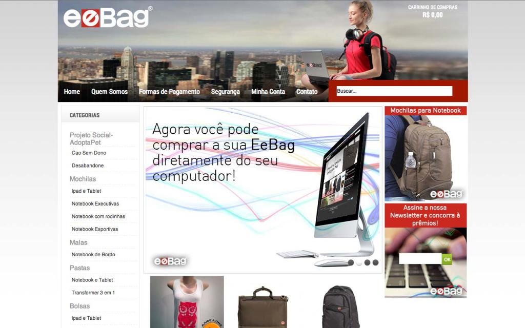 Eebag E-Commerce